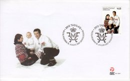 GREENLAND 2007 Crown Prince And Family  On FDC.  Michel 497 - FDC