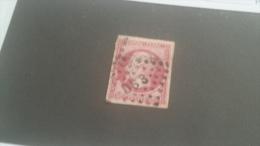 LOT 236933 TIMBRE DE FRANCE OBLITERE N�17B VALEUR 55 EUROS CACHET AMBULANT