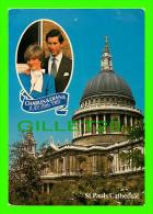 ROYAL FAMILIES - PRINCESS DIANA & CHARLES, JULY 29th 1981 - ST PAULS CATHEDRAL - DRG - - Royal Families