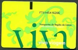 TICKET TRAMWAY �  LISBONNE >> TICKET N� 6286