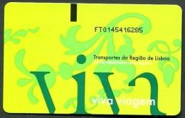 TICKET de TRAIN �  LISBONNE >> TICKET N� 6285