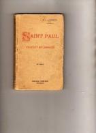 R.P.A. Lemonnyer - O.P. - Saint Paul - Traduit Et Annoté - 25e Mille - Publiroc  Marseille - Tampon Séminaire Layrac (Lo - Religion