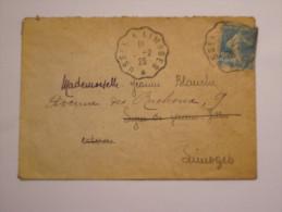 Marcophilie Lettre  Avec Oblitération  PTT Ambulants  En 1925 - Marcophilie (Lettres)