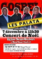 The Palata Singers - Affiche Concert à Mont-Saint-Guibert Le 07 Décembre 2014 + Flyers + Ticket D'Entrée - Manifesti & Poster