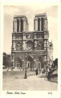 FRANCE. POSTCARD. PARIS. NOTRE DAME CATHEDRAL - Notre Dame De Paris