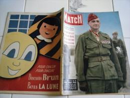 PARIS MATCH N�261-3 AVRIL 1954- DIEN BIEN PHU LA BATAILLE LA PLUS DURE D�INDOCHINE-PRINCIPAUTE DE MONACO  RAINIER-ZOO-