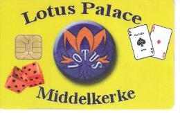 Casino card Belgium