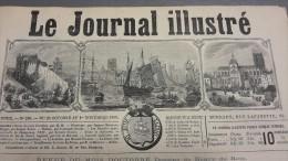 1868 VILLE DE DIEPPE -V�LOCIPEDIE - R�COLTE DU HOUBLON - SAINT  CLOUD - CUZCO P�ROU - LE JOURNAL ILLUSTR�E