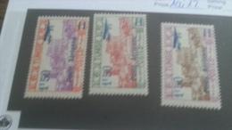 LOT 237073 TIMBRE DE COLONIE TUNISIE NEUF* N�10 A 12 VALEUR 20 EUROS