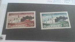 LOT 237076 TIMBRE DE COLONIE TUNISIE NEUF* N�20/21 VALEUR 12 EUROS
