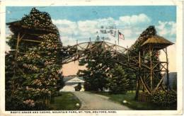 Rustic Arbor And Casino, Mountain Park, Mt. Tom, Holyoke, Massachusetts 1917 - Non Classificati