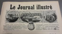 1868 VILLE DE RUFFEC - LA REINE D�ESPAGNE - BIARRITZ - JUVISY - LE JOURNAL ILLUSTR�E