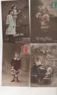Lot De 113 CPA - Fantaisie - Bonne Année -Scan Représentatif Du Lot - 100 - 499 Postales