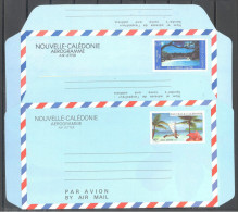 Nouvelle Caledonie: Yvert N° Aérogramme 12/13**; MNH; Tourisme; Voir Le Scan - Nouvelle-Calédonie