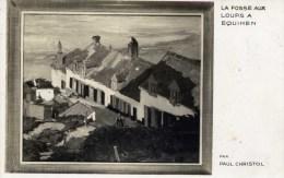 62 EQUIHEN La Fosse Aux Loups Par Paul CHRISTOL Peintre à La Quille En L´air - France