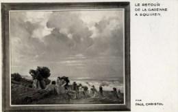 62 EQUIHEN  Le Retour De La Garenne Par Paul CHRISTOL Peintre à La Quille En L´air - France