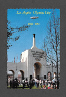 LOS ANGELES - CALIFORNIA - PERISTYLE ENTRANCE TO THE LOS ANGELES MEMORIAL COLISEUM HOME OF THE 1984 OLYMPICS
