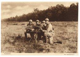 (9876 DEL) Very Old Postcard - Carte Ancienne - Military - Camp De MaillyCavalerie En Manoeuvre - Casernes