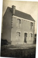 Carte Photo Maison � Situer Recto Verso H Martin Photographe 148 Rue de la Fuye Tours