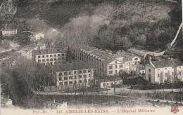 AMELIE LES BAINS -66- L'HOPITAL MILITAIRE - France