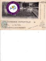 92 - Levallois-Perret - La Chêvrerie Infantile - Levallois Perret
