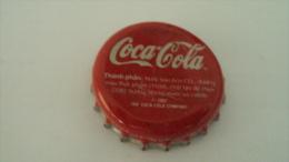 Vietnam Coca Cola used beverage bottle crown cap 2002 / Kronkorken / Capsule