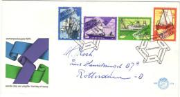 OLANDA - NEDERLAND - Paesi Bassi - 1973 - ZOMERPOSTZEGELS - FDC - Viaggiata Per Rotterdam - FDC