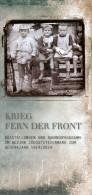 Brosch�re S�dsteiermark Krieg fern der Front 2014 Feldbach Bad Radkersburg Laafeld Feldbach J�dische Soldaten Isonzo