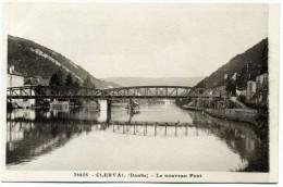 25 - Clerval - Le Nouveau Pont  N° 36458 - Andere Gemeenten