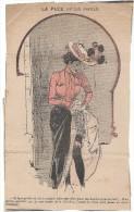 """Revue satyrique/""""Rire""""?,""""Frou Frou""""?,""""P�le M�le""""?/Coupure de dessin humoristique/Jack Abeill�/entre 1895-1905       ERO1"""