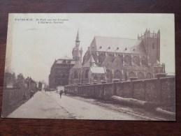 Wavre-Notre-Dame De Kerk Van Het Klooster / Couvent () Anno 1922 ( Zie Foto Voor Details ) - Sint-Katelijne-Waver