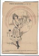 """Revue satyrique/""""Rire""""?,""""Frou Frou""""?,""""P�le M�le""""?/Coupure de dessin humoristique/Carl HAP/entre 1895-1905       ERO2"""