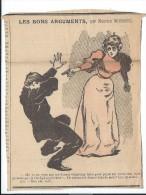"""Revue satyrique/""""Rire""""?,""""Frou Frou""""?,""""P�le M�le""""?/Coupure de dessin humoristique/Maurice Neumont/entre 1895-1905    ERO3"""