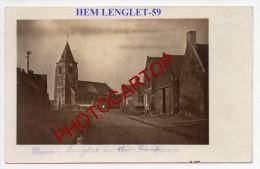 HEM LENGLET-Carte Photo Allemande-Guerre 14-18-1WK-Frankreich-France-59- - Cambrai