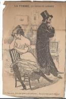 """Revue satyrique/""""Rire""""?,""""Frou Frou""""?,""""P�le M�le""""?/Coupure de dessin humoristique/G.de LAUMONT/entre 1895-1905    ERO4"""