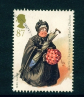 GREAT BRITAIN  -  2012  Charles Dickens  87p  Used As Scan - Used Stamps
