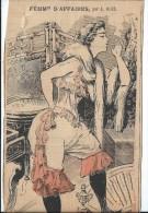 """Revue satyrique/""""Rire""""?,""""Frou Frou""""?,""""P�le M�le""""?/Coupure de dessin humoristique/L�on ROZE/entre 1895-1905    ERO5"""