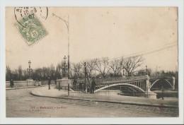 92 Dép.- 791 - Puteaux - Le Pont - Collection F.Fleury. Carte Postale Ayant Voyagé En 1907,dos - Puteaux