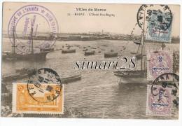 RABAT - N° 75 - L'OUED BOU-REGREG (avec Cachet Service Geographique Plus Timbres 1923) - Rabat