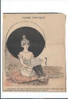 """Revue satyrique/""""Rire""""?""""Frou Frou""""?""""P�le M�le""""?/Coupure de dessin Humoristique/Dessinateurs non identif�s/1895-1905 ERO8"""