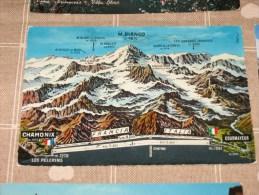 COURMAYEUR 1967 -  CONFINE AOSTA  - COLORI  Vg                           Qui Entrate!!! - Italy