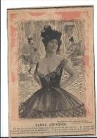 Revue satyrique//Coupure de Photographie d�apr�s nature/de Gerschel/Photographe/1895 -1905 ERO9