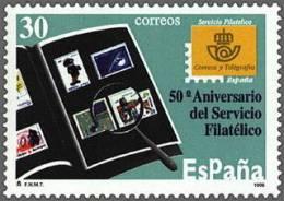 ESPAÑA 1996 - 50 ANIVERSARIO DEL SERVICIO FILATELICO - Edifil 3441 - Timbres Sur Timbres