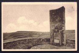 CPA ANCIENNE- FRANCE- ÉQUIHEN (62)- LE MONUMENT DU PEINTRE J.C. CAZIN EN TRES GROS PLAN- TIMBRE AVEC VARIÉTÉ-2 SCANS - France
