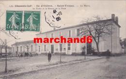 Charente Maritime Ile D Oléron Saint Trojan Les Bains La Mairie Les écoles Et Le Bureau De La Poste éditeur Braun - Ile D'Oléron