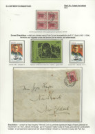 ANTARTIDA - SHACKLETON -SOBRE MAT. BRIT. ANTARCTIC 04.03.1909 + BLOC 4 SELLOS + CARNET - Polar Explorers & Famous People