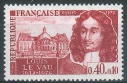 France, Louis Le Vau, Architect, Vaux-le-Vicomte Castle 1970, MNH VF - France