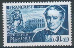"""France, Prosper Mérimée, French Writer, """"Carmen"""", 1970, MNH VF - France"""