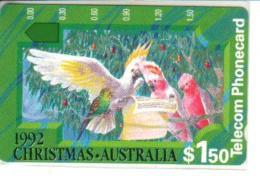 AUSTRALIA $1.50 CHRISTMAS 1992 BIRD CHOIR PARROT CARTOON MINT AUS-064 READ DESCRIPTION  !! - Australie