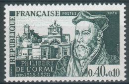 France, Philibert Delorme, Architect, Anet Castle, 1970, MNH VF - France
